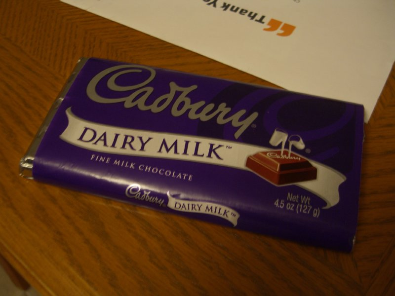 Cadbury Chocolate?!?