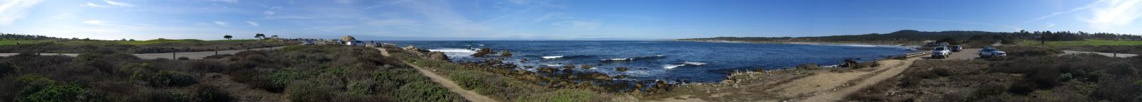Spanish Bay Panorama