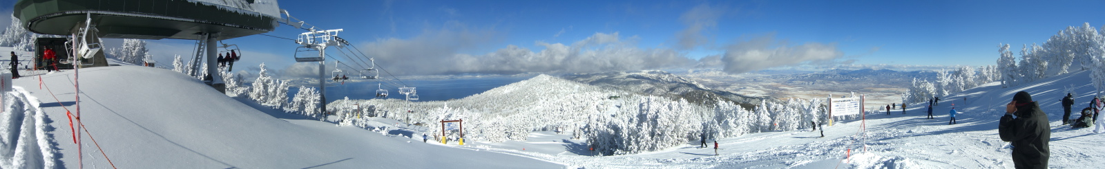 Tahoe from Heavenly Panorama